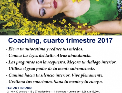 COACHING, CUARTO TRIMESTRE 2017