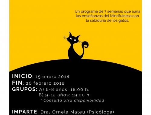 TALLER PARA NIA�OS: INTRODUCCIA�N AL MINDFULNESS.