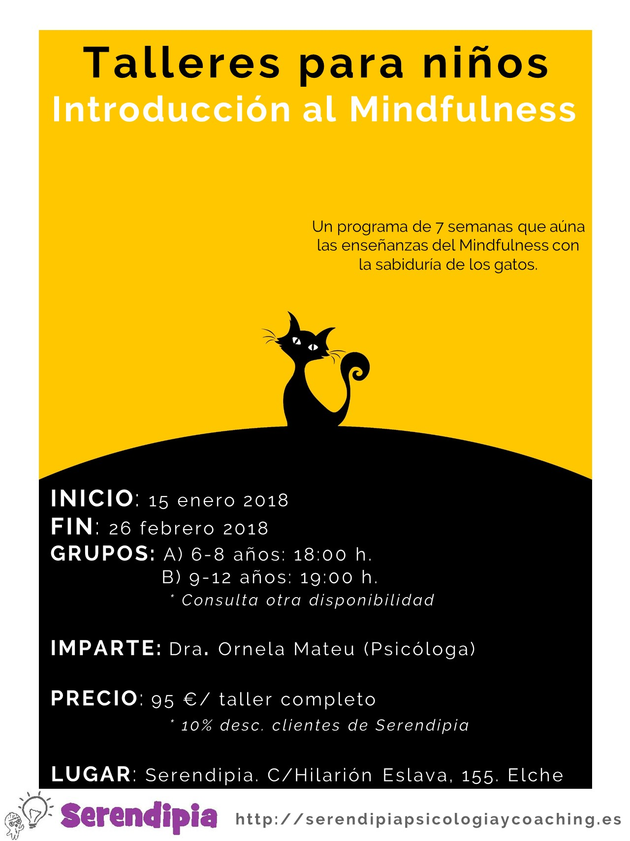 TALLERES MINFULNESS 2018