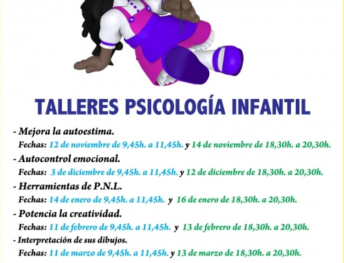 TALLERES PSICOLOGÍA INFANTIL